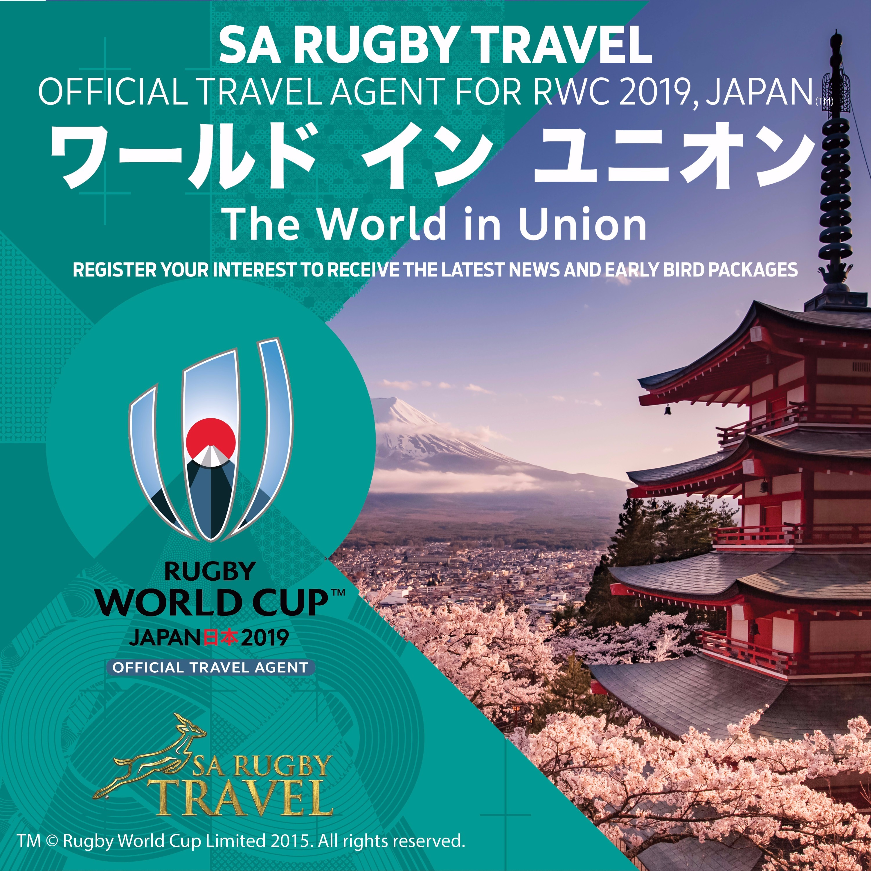 SA Rugby Travel - Official Travel Agent